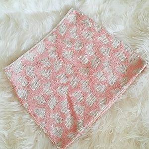 Blush Sequin Mini Skirt